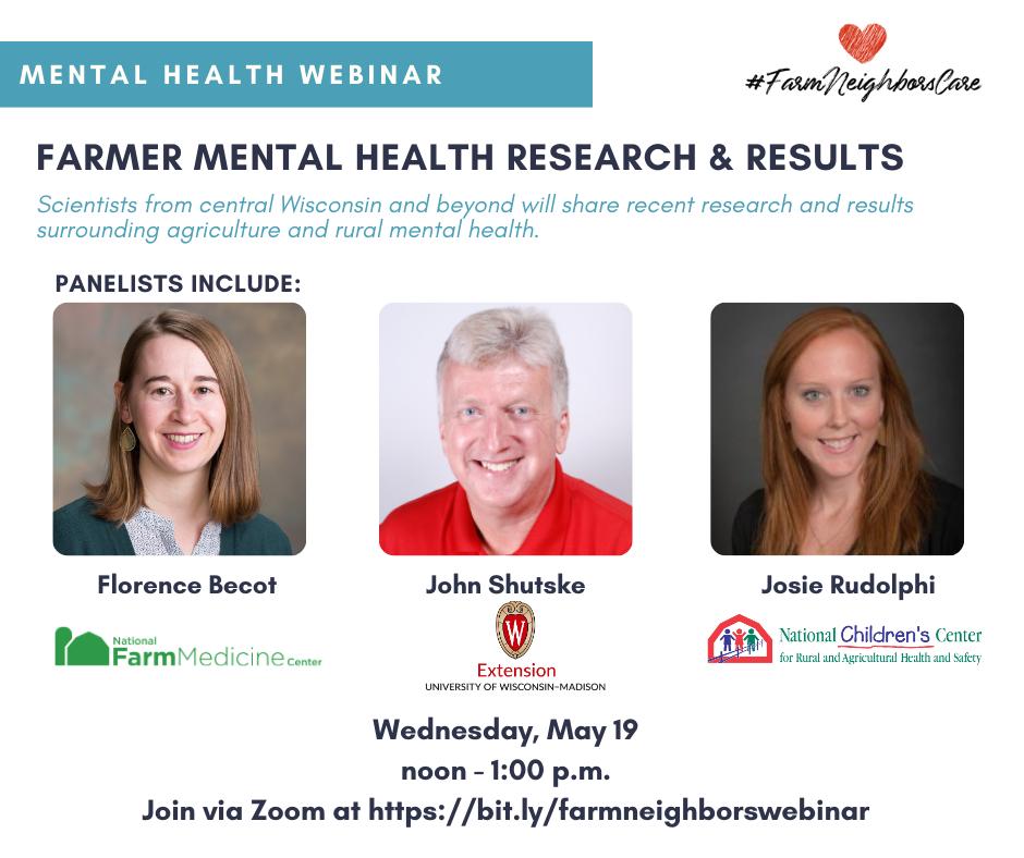 Mental Health Webinar - May 19