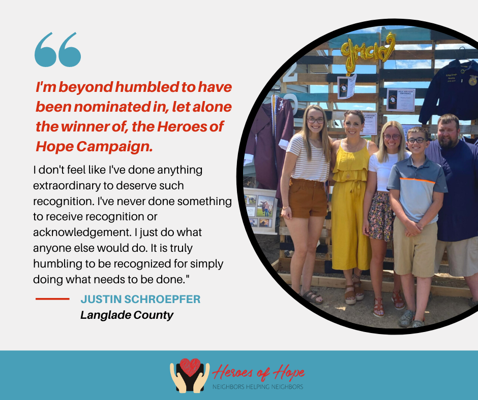 Heroes of Hope finalist quotes