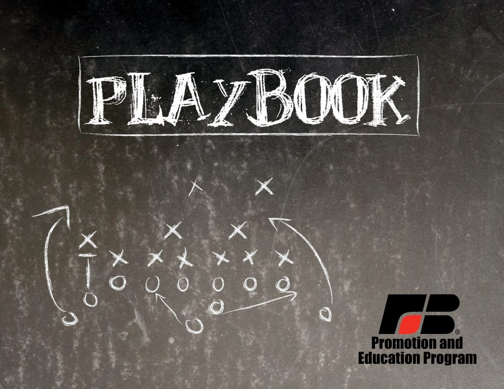Promotion and Education Playbook Cover
