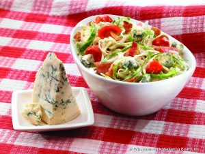 Wisconsin Red, White and blue slaw