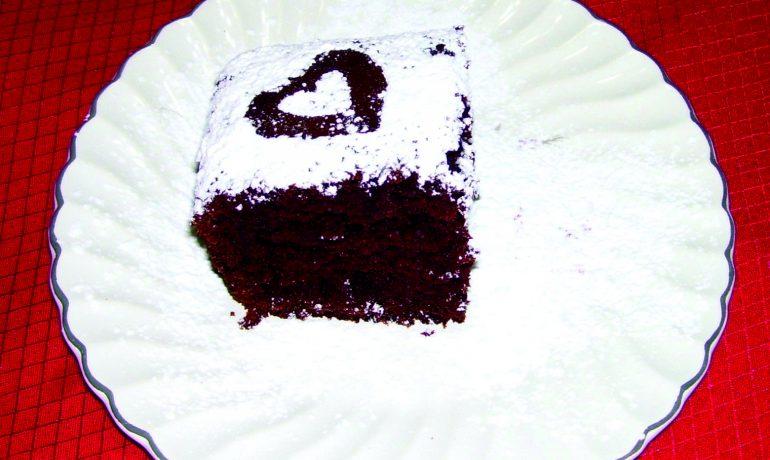 Grandma Schmoll's Extra Moist Chocolate Cake