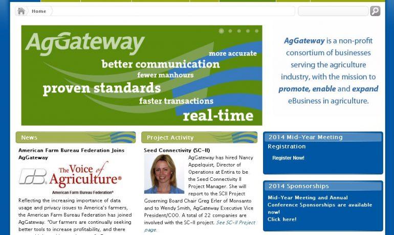AgGateway Homepage