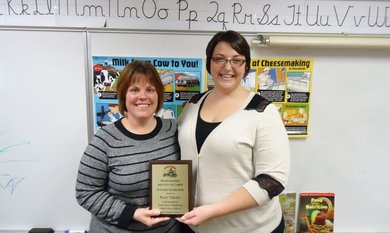 Eau Claire Educator Recognized for Agricultural Literacy Work