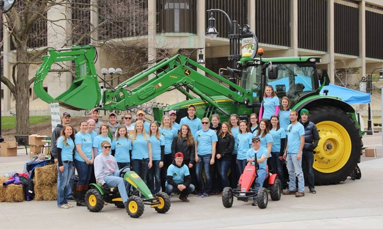 Agriculture Promotion in the Heart of UW-Madison's Campus