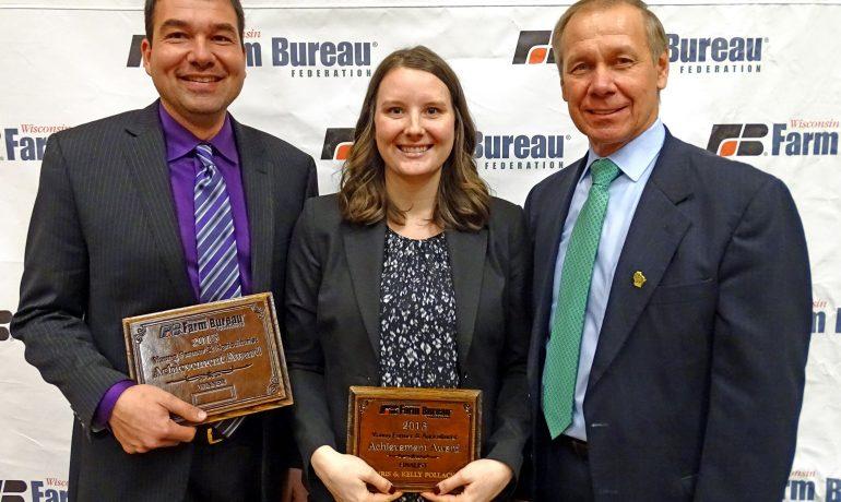 Fond du Lac County Dairy Farmers Win Farm Bureau's Achievement Award