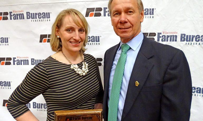 Beth Schaefer Wins Farm Bureau's Excellence in Agriculture Award