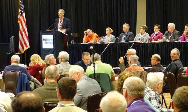 Wisconsin Farm Bureau Delegates Set Policy for 2016
