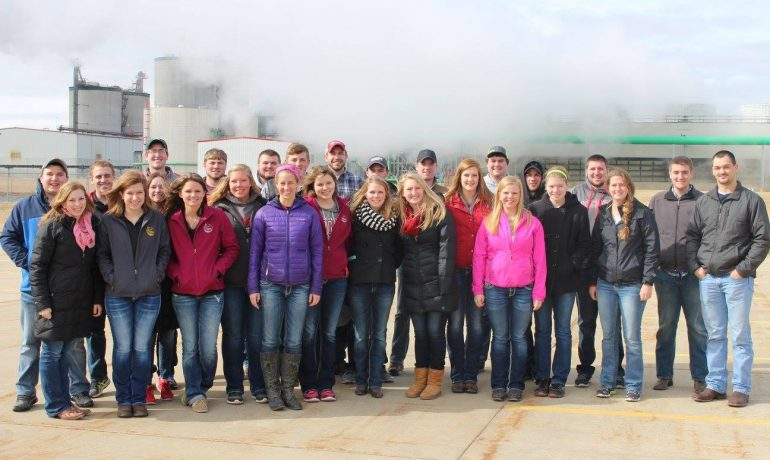 Behind the Scenes of the Collegiate Ag Tour Trip