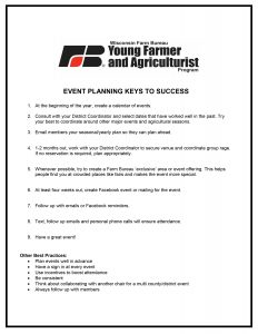 Event Planning Keys to Success