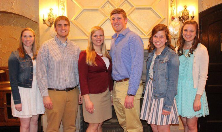 UW-Madison Collegiate Farm Bureau Officer Team