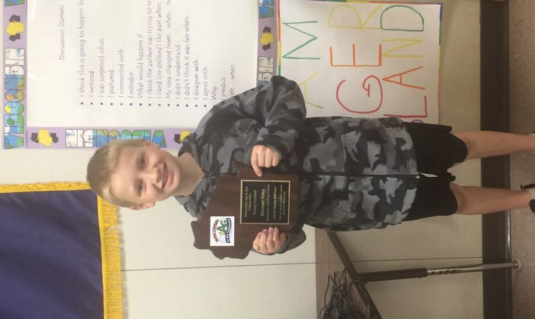 Waupaca Student Named State Winner in Ag in the Classroom Essay Contest