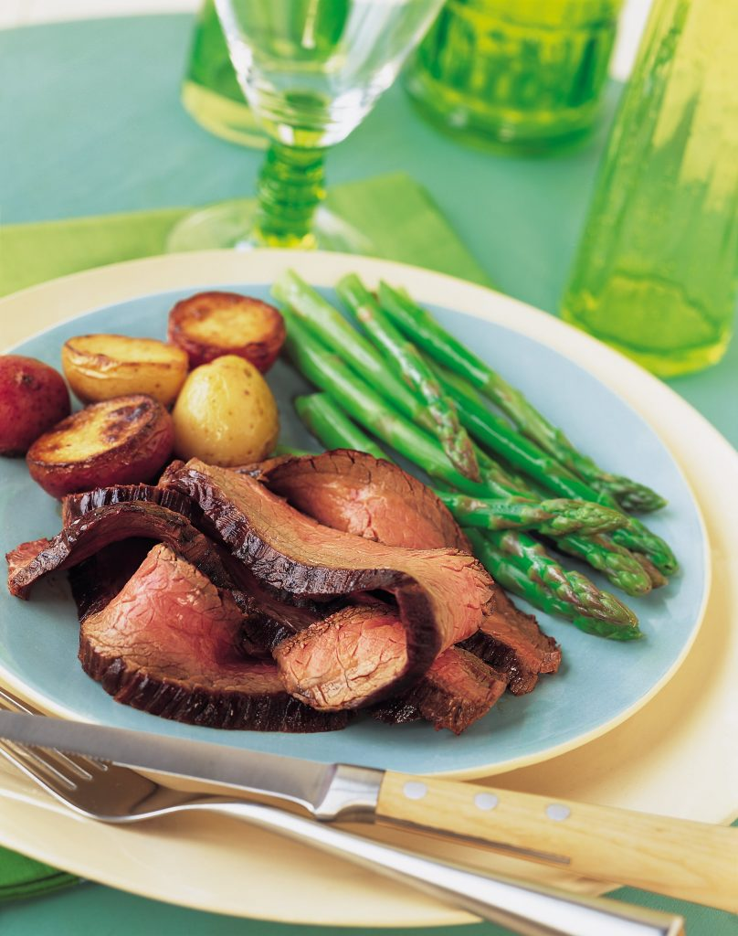 Chipotle-Marinated Beef Flank Steak