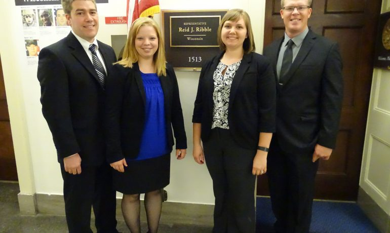Young Farmers and Agriculturists Visit Capitol Hill