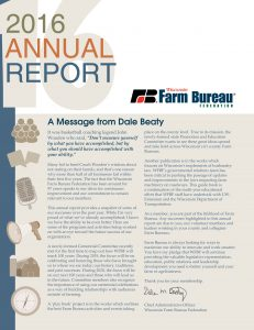 August Sept 2016 RR - Annual Report cover