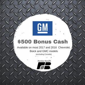 GM Member Benefit