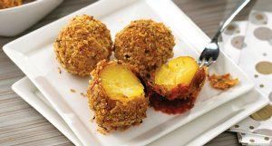 Parmesan Panko Potato Balls