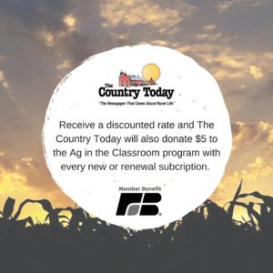 The Country Today - Member Benefit