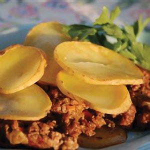 beef potato dinner