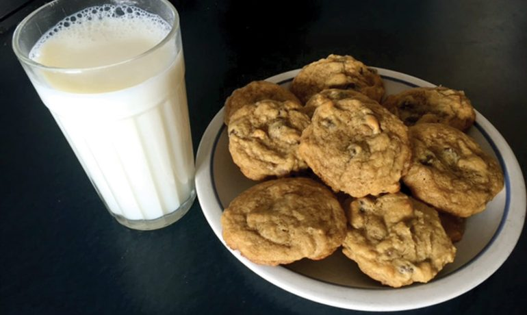 'Annual Meeting' Chocolate Chip Cookies
