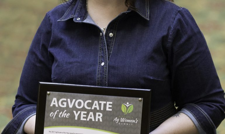 Mess Named 2017 AgVocate of the Year  at Wisconsin Ag Women's Summit
