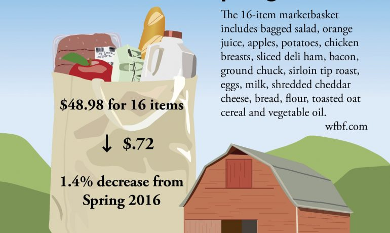Survey Says… Food Prices are Low in Wisconsin