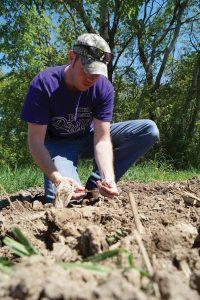 Derek Husmoen soil sample