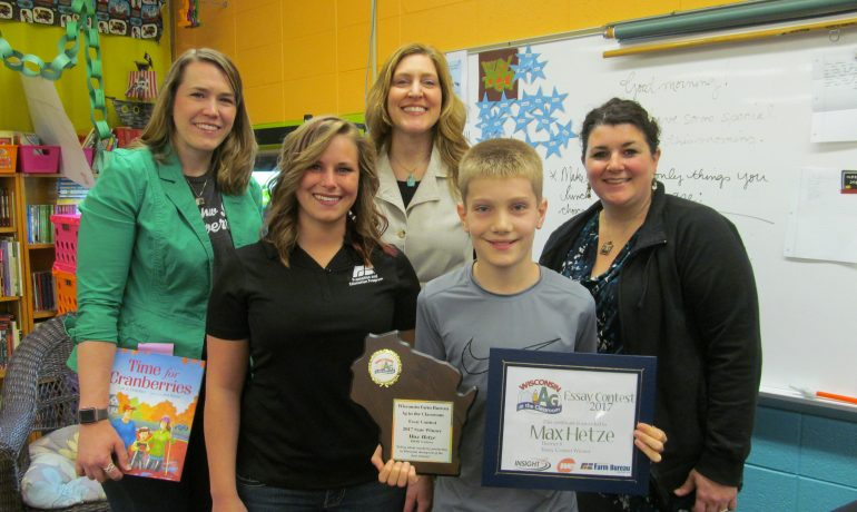 Rudolph Student Wins Ag in the Classroom Essay Contest