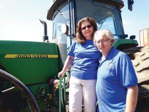 Prestruds on tractor-1