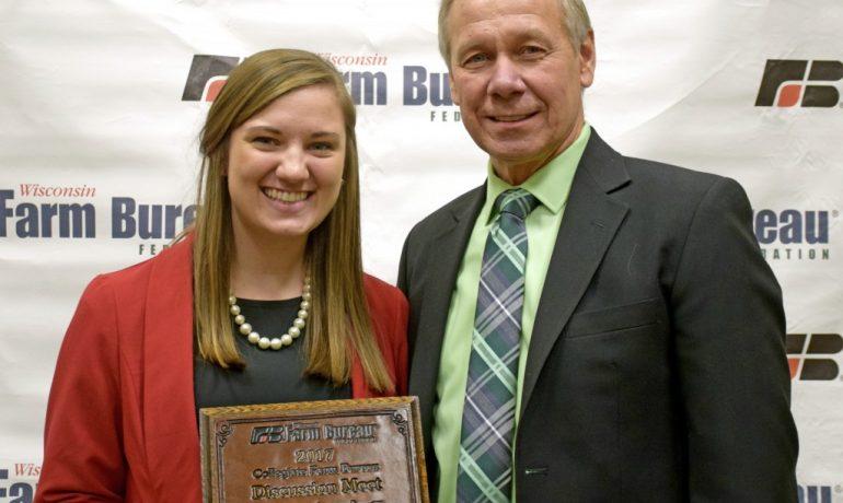UW-Madison Student is Farm Bureau's Collegiate Discussion Meet Winner