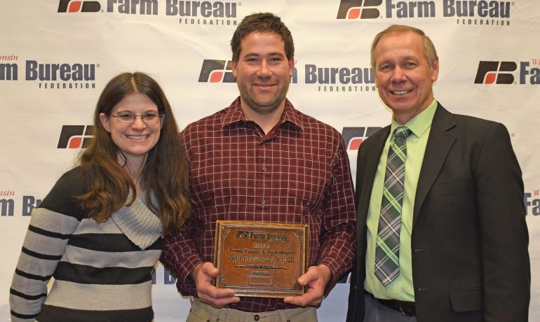 Gleasons Win Farm Bureau's Achievement Award