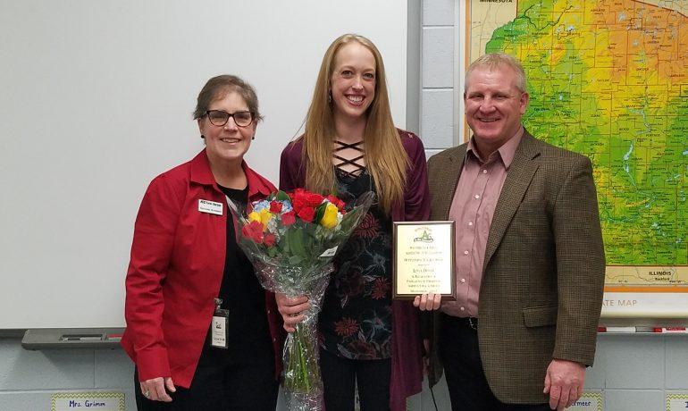 Mineral Point Teacher Receives National Recognition for Ag Literacy Work