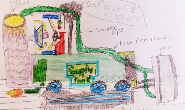 Ag in the Classroom Announces  Winners of Ag Day Drawing Contest