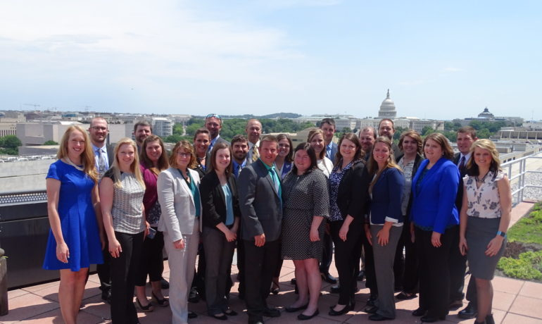 Young Farm Bureau Members  Advocate for Agriculture in D.C.