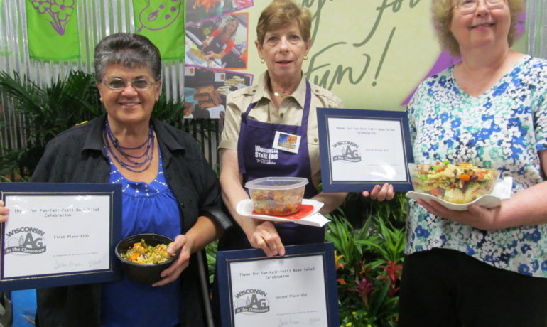 Ag in the Classroom State Fair Culinary Contest Winners
